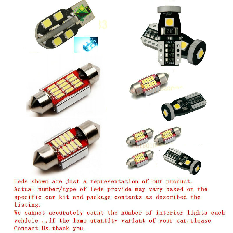 Car <font><b>Led</b></font> Interior Lighting For <font><b>Renault</b></font> MEGANE4 <font><b>MODUS</b></font> GRAND SCENIC2 3 Auto automotive light bulbs lamp error free 8pc image