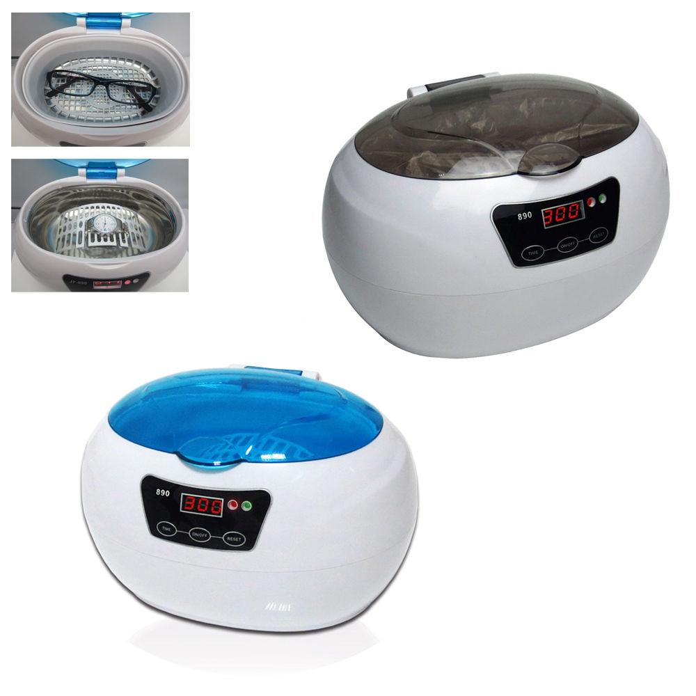 где купить  600ml Ultrasonic Timer Jewelry Watch Eyeglass CD Cleaner Sterilize Cleaning Equipment  по лучшей цене
