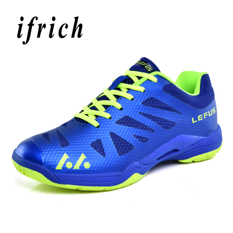 Lightweight Breathable Badminton Shoes for Men Lace-up Sport Shoes Mens Training Athletic Shoe Anti-Slippery Tennis SneakersLightweight Breathable Badminton Shoes for Men Lace-up Sport Shoes Mens Training Athletic Shoe Anti-Slippery Tennis Sneakers