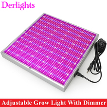{ Dimmable } LED Grow Light 200W Plant Lamp For Hydroponics Cultivation Flowers Medical Indoor Garden Plants Grow Tent Lighting