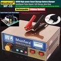 400W Intelligente Automatico 12 V/24 V Auto Batteria di Stoccaggio Caricatore LCD 5-fase di Riparazione Impulso Intelligente piombo Acido Batteria Al Litio 6-400AH