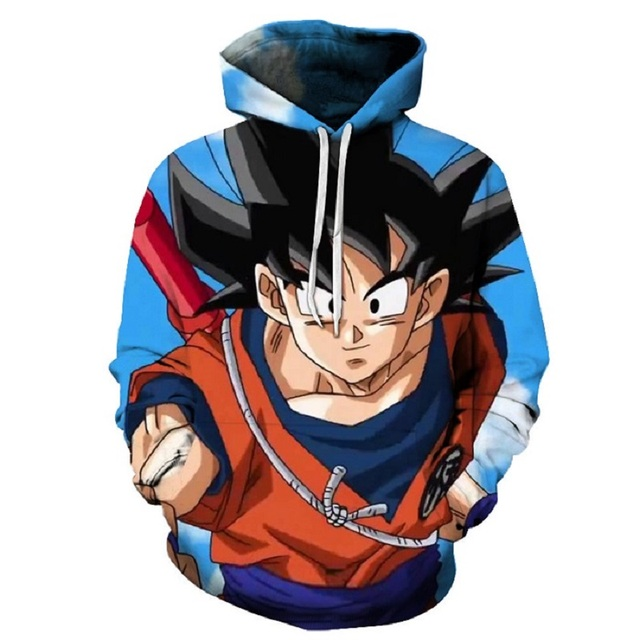 Новинка 2019 BZPOVB, семейный пуловер с 3D Цифровым принтом Dragon Ball Z Magic Dragon Ball, Свитшот