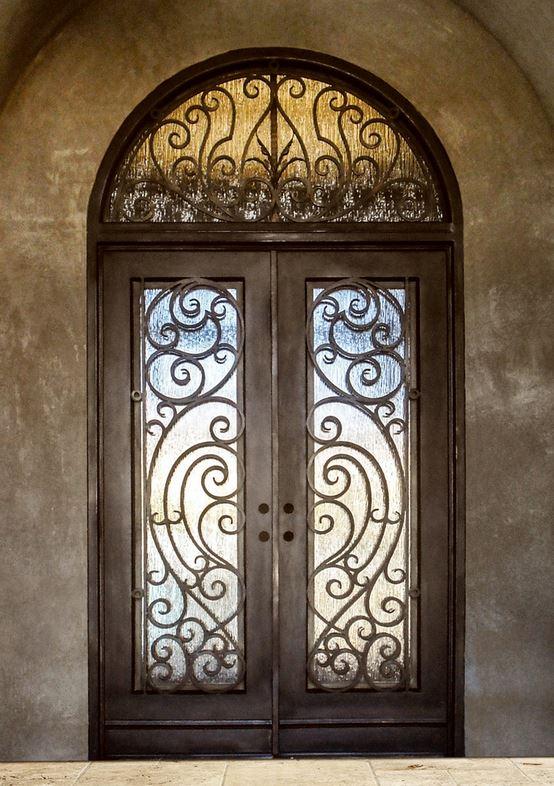 Wholesale Wrought Iron Doors Iron Double Doors Iron Doors Iron Front Doors For Sale  Hc7