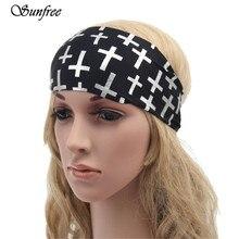 Sunfree 2017 New Arrival Hot Sale Wide Headband Boho Running  Womens Hair Accessories  Headwrap Nonslip Oct 25