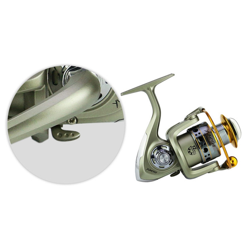 Yumoshi Wheels Fish Spinning Reel 5.5:1 Carretilhas Pescaria Molinete Accessories