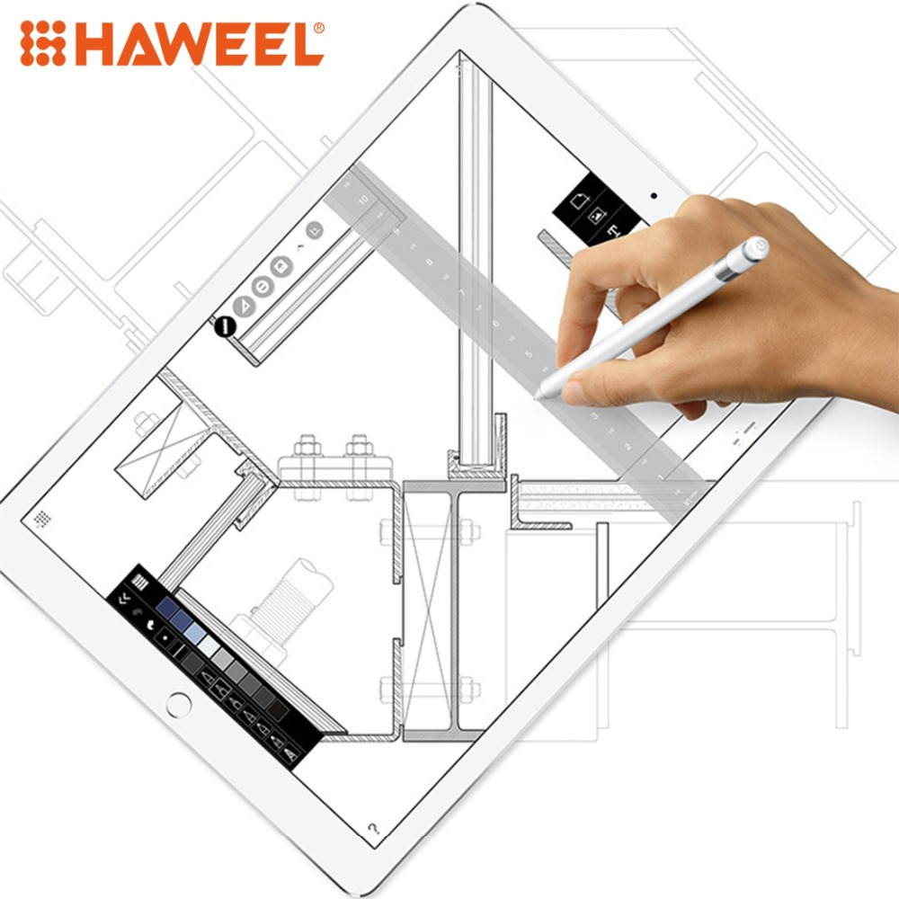 HAWEEL Stylus Pen High Precision Active Capacitive Pen For IPad IPhone Samsung Huawei Tablets Mobile Phone Touch Painting Pen