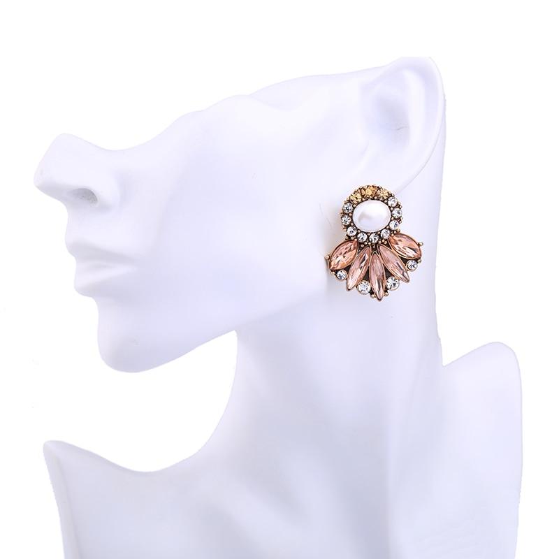 KISS ME Markenaussage Ohrringe New Fashion Simulierte Perle Kristall - Modeschmuck - Foto 2