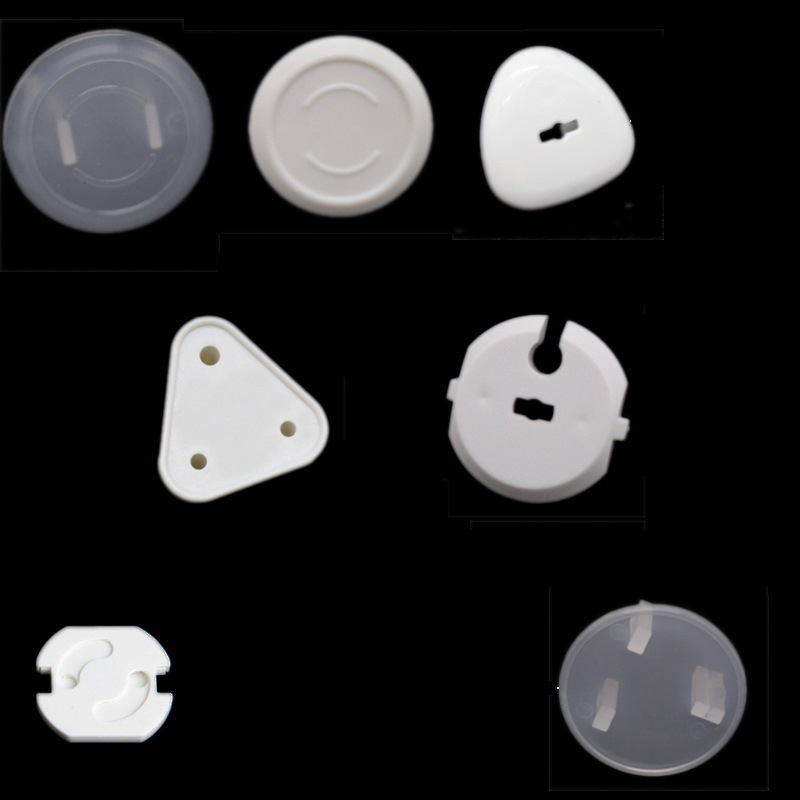 EU / AUS / RUS 10PCS Power Socket Electrical Outlet Baby Kids Child Safety Guard Protection Anti Electric Shock Plugs Protector