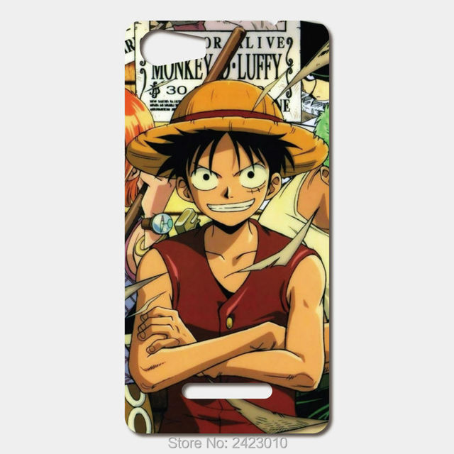 US $3 8  For Wiko Lenny 2 Sunset 2 Pulp 4G Ridge 4g Rainbow Jam High  Quality Cell phone cases Hard PC Anime One Piece Patterned Cover-in  Half-wrapped