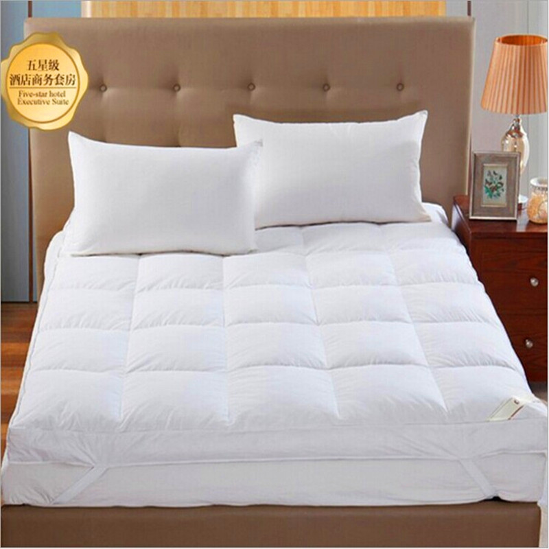 Filling 100% Goose Down Outside Fabric 100%Cotton The thickness of 5cm Mattresses Fivestar Hotel Special-purpose