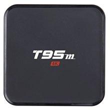 Sunvell S905X T95M Android 5.1 TV Box Amlogic Quad Core Inteligente 4 K HD Media Player 1 GB RAM 8 GB de la Ayuda 2.4G 5G WiFi Bluetooth
