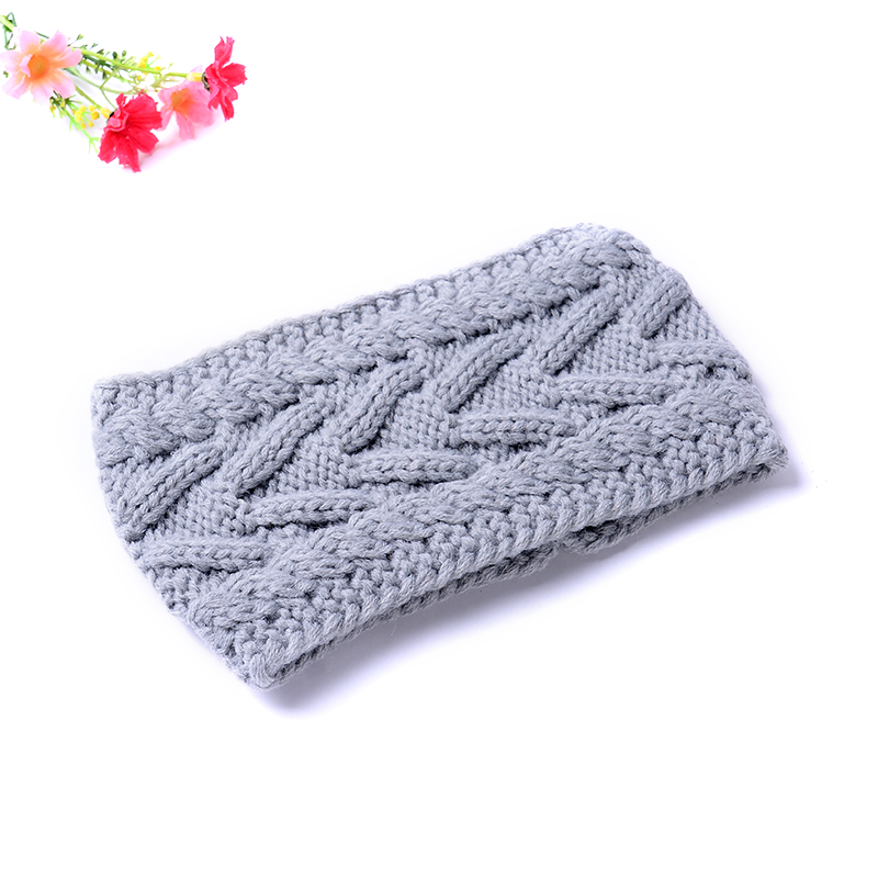 Hand Made Beauty Fashion 6 Colors Flower Crochet Knit Knitted ...