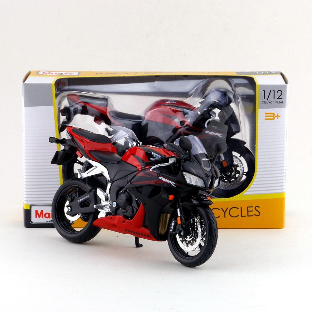 Toys & Hobbies Maisto/1:12 Scale/simulation Diecast Model Motorcycle Toy/honda Cbr 600rr Supercross/delicate Childrens Toy/colllection Diversified In Packaging