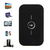 2in1 Bluetooth Transmitter Receiver HIFI Wireless Receiver A2DP Portable Audio Player Aux 3 5mm Black Bluetooth