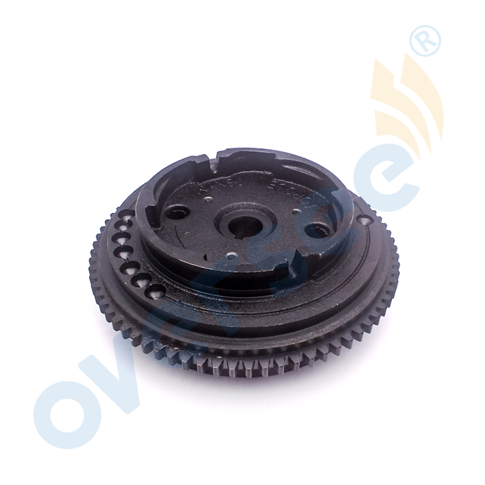 6AH 85550 10 Outboard Rotor Assy Electrical Fly Wheel For YAMAHA Outboard Motor F15A 15HP 6AH