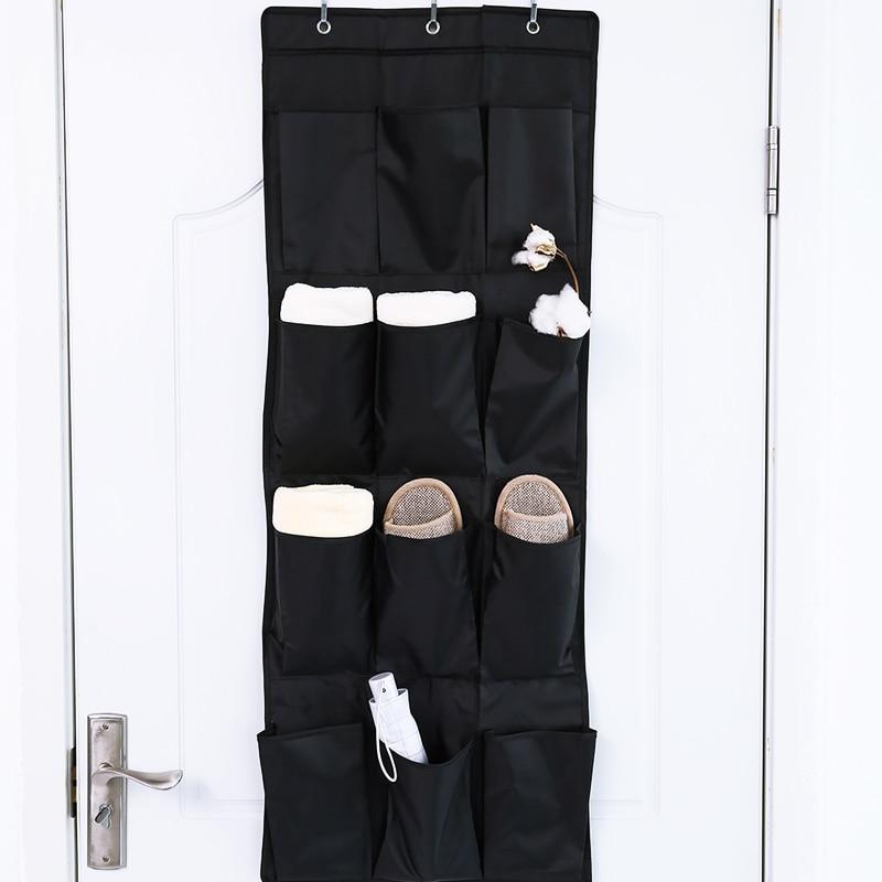 12 Pockets Door Hanging Bag Box Shoes Organize Rack Hanger Storage Tidy Storage Box Hanging bags Home Organizer Storage Rack Bag|bag blue|bag bag|bag green - title=