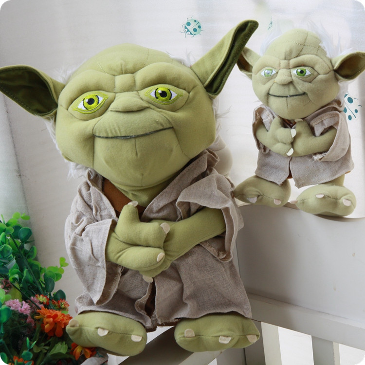 Star wars plush toys Yoda 5