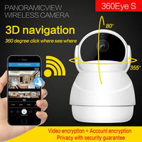 1080P IP Camera Wireless Home Security PTZ IP Camera Surveillance Camera Wifi Night Vision CCTV Camera