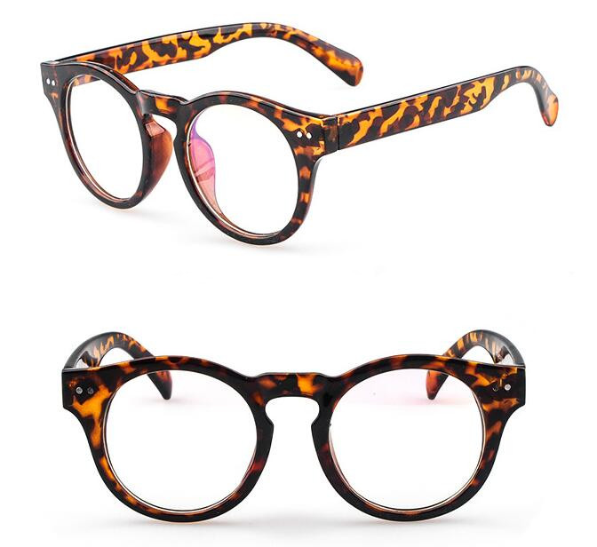 Hot Sale BETSION Vintage Leopard Tortoise Eyeglass Frames Spectacles ...