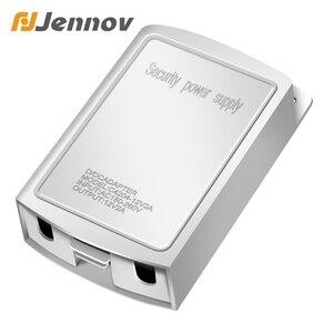 Image 1 - Jennov Adaptador de fuente de alimentación conmutada para cámara de seguridad CCTV, resistente al agua, para exteriores, 12V, 2A