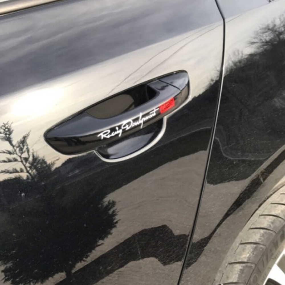 Autocollants et décalcomanies pour poignée de porte style de voiture pour Toyota Prius Levin Crown Avensis Previa FJ Cruiser Venza Sienna Alphard ZELAS