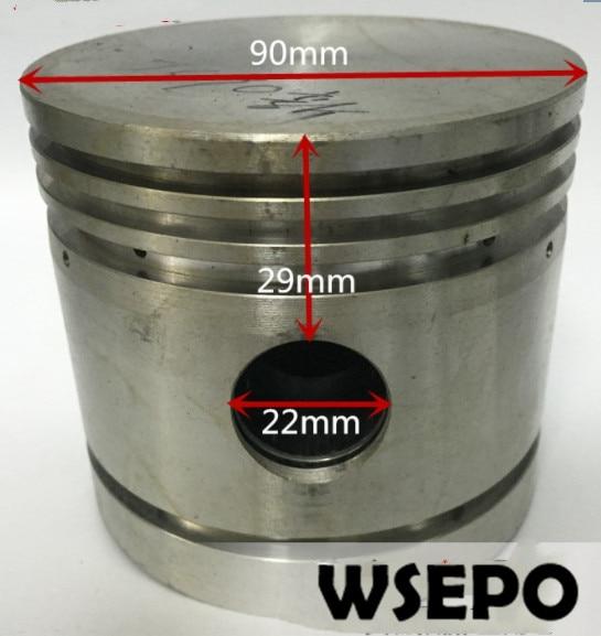 Pièces d'outils pneumatiques de qualité! Piston (avec diamètre 90mm) convient pour compresseur d'air à Piston JC 90