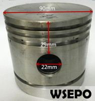 Quality Pneumatic Tools Parts! Piston( With Diameter 90mm) fits for JC 90 Piston Type Air Compressor