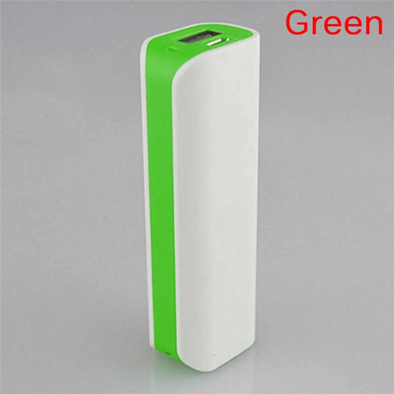 (لا البطارية) 18650 قوة البنك مربع شاحن هاتف محمول DIY حالة قوة البنك USB Pover قوة البنك مربع