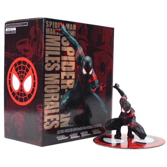 11 centímetros Vingadores Spiderman Milhas Morales Marvei Ver. Homem aranha Figura de Ação Brinquedo de Presente