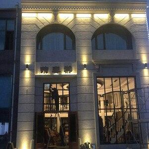 Image 4 - Beiaidi 6/10/18/24w luz de led para baixo, varanda, para parede, para área externa, vila, cortina lâmpada de parede impermeável, iluminação da rua