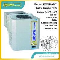 1150 Watt all in one kühleinheit geeignet für 7m3 kühleren raum innovation produkte für kühler anhänger oder mobile kühlraum mit CE-in Gefrierschrank-Teile aus Haushaltsgeräte bei
