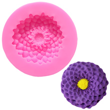 Lovely Flower Mold Cake Silicone Form For Soap Moldes De Silicone Baking Cake Baking Mold Cake Tools Decorating Fondant A152744 цена и фото