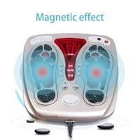 Multifunctional Body Health Care Foot Massaging Device Electromagnetic Infrared Wave Pulse Foot Massager US/UK/AU/EU Plug