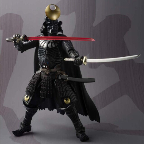 NEW hot 18cm Samuraidaisho Star Wars 7 Force Awakens Darth Vader Action figure with box toys Christmas gift collectors