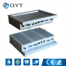 10.4″ mini embedded Panel pc Inter N2807 1.6GHz with 2RS232/4USB All in one pc 2GRAM 32GSSD touch screen mini pc
