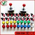 DIY Jamma arcade game ki 2pcs ZIPPY joystick +16pcs LED Transparent plastic push button with Micro switch+ 1P 2P led button