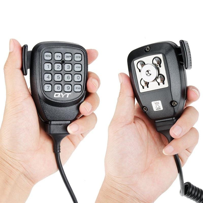 Original DTMF Speaker Microphone For QYT KT-8900D KT-8900 KT8900R KT-7900D Mini-9800 KT8900 Mobile Radio