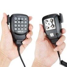 Orijinal DTMF hoparlör mikrofon QYT KT 8900D KT 8900 KT8900R KT 7900D Mini 9800 KT8900 mobil radyo