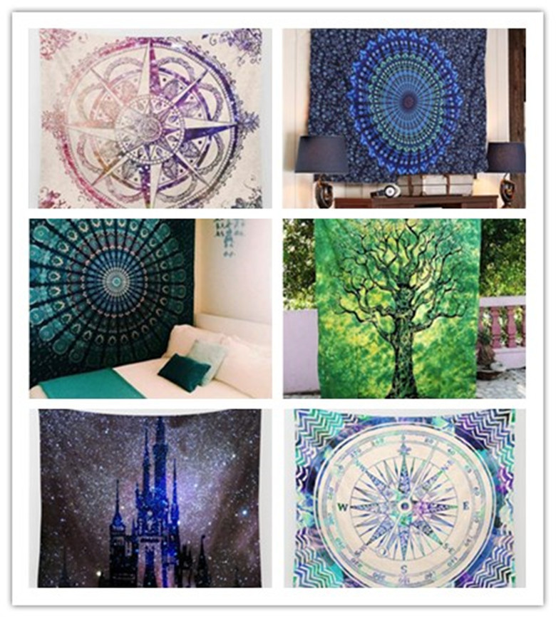 Diy Home Decor Indian Style Tutorial: Indian Decor Mandala Tapestry Wall Hanging Hippie Throw