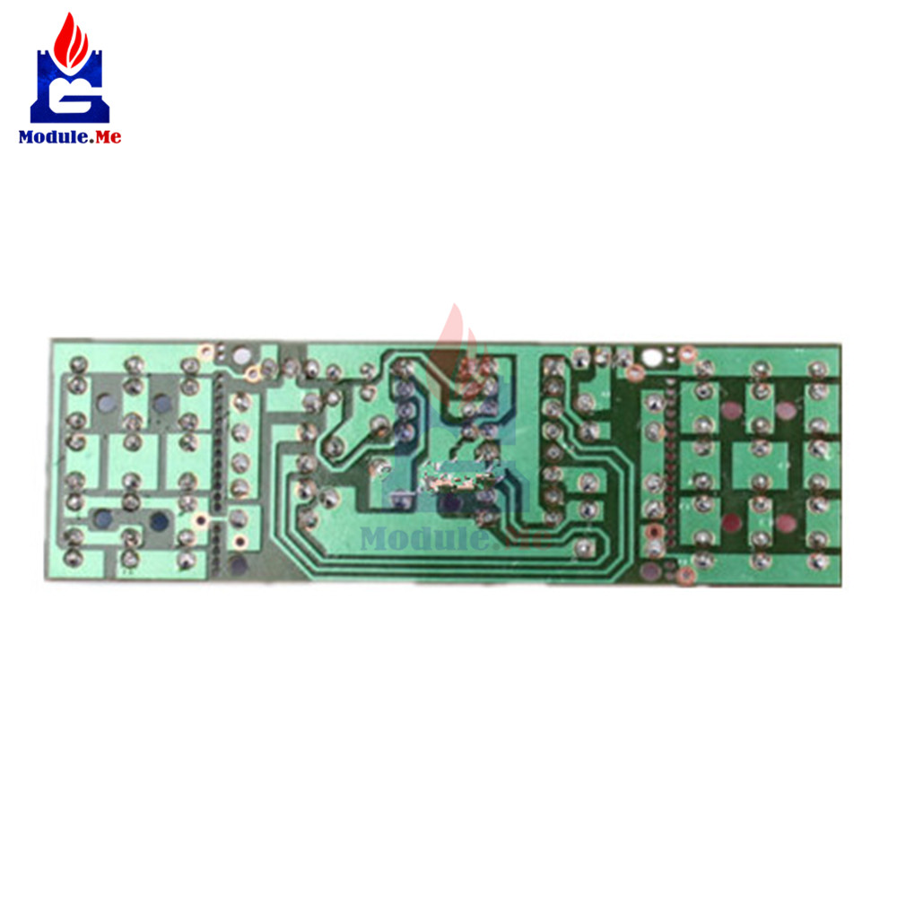 1Set NE555 + CD4017 Practice Learning Kits Red Blue Double Color Flashing Lights Kit Electronic Suite 9-12V DIY for Arduino 8