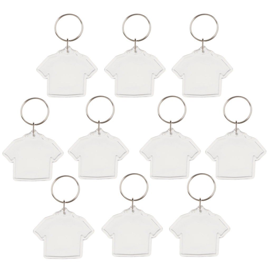 10 Buah DIY Gantungan Kunci Akrilik Kosong Insert Foto Gambar Bingkai Split  Cincin Gantungan Kunci di Gantungan kunci dari Perhiasan   Aksesoris ... f336c6d22dc8