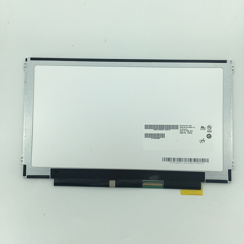 11.6 inch B116XW03 V.0 Lcd display screen panel inner screen replacement parts for ASUS VivoBook X202E Q200E S200 S200E все цены