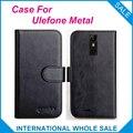 """6 Цвета Hot! 2017 Ulefone Metal Case, 5.0 """"Высокое Качество Кожи Эксклюзивные Case Для Ulefone Металлической Крышкой Телефон Отслеживания"""
