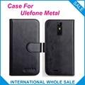 """6 Colores ¡ Caliente! 2017 ulefone metal case, 5.0 """"de alta calidad de cuero exclusivo case para ulefone teléfono metálica cubierta de seguimiento"""