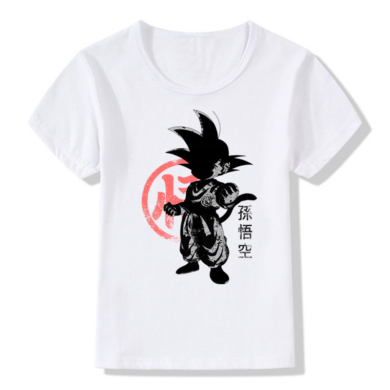 Boy And Girl Print Dragon Ball Japanese Anime Role Super T Shirt