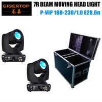 TIPTOP wholesale Free shipping 230w O s ram 7R Sharpy Beam Moving Head Light Guaranteed 100% 1 year warranty flight Case Packing