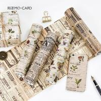 20 CM Wide Newspaper Dairy Thing Decorative Washi Tape Adhesive Tape DIY Scrapbooking Sticker Label Masking