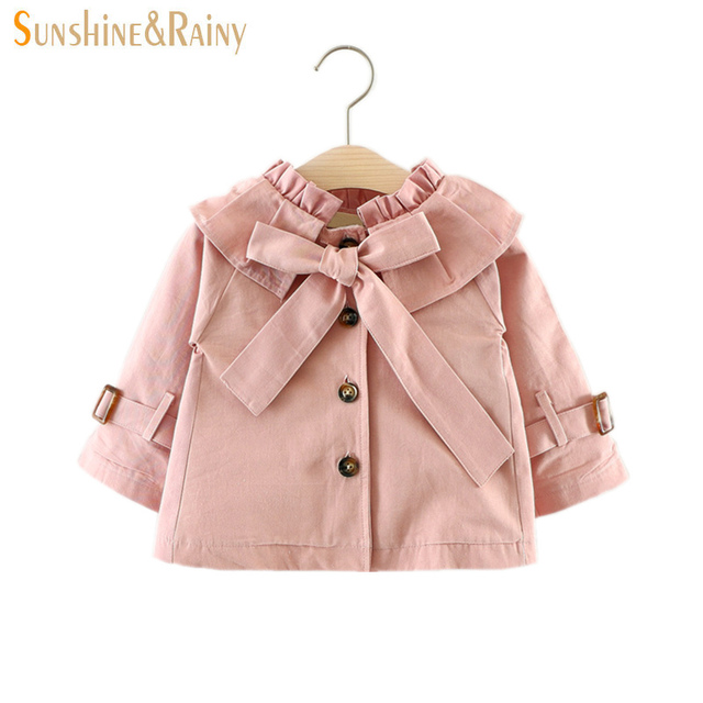 22809d475ca7 Sunshine   Rainy Windbreaker For Girls Baby Girls Jackets Brand ...