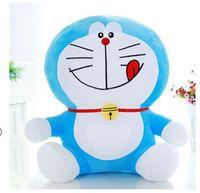 new lovely stuffed naughty doraemon toy plush doraemon doll perfect gift about 50cm