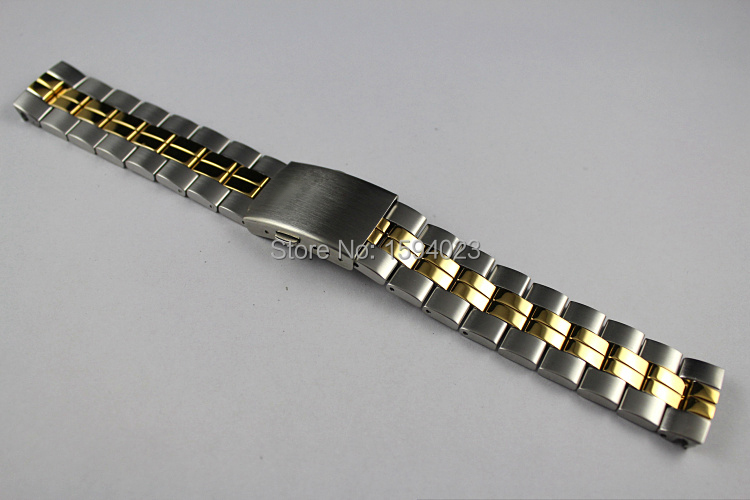 19mm T049417 T049407 T049410A new Watch Parts Male models Watch Band Solid Stainless Steel band For